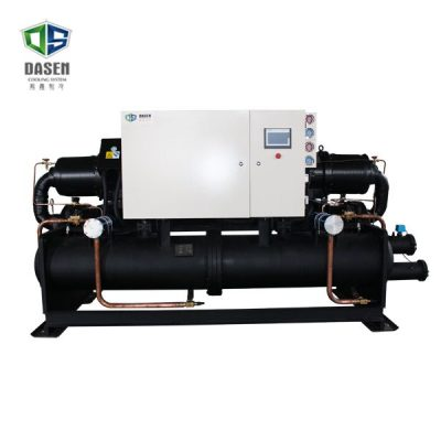 Double Screw Compressor Water Cooling Chiller Thumb 1